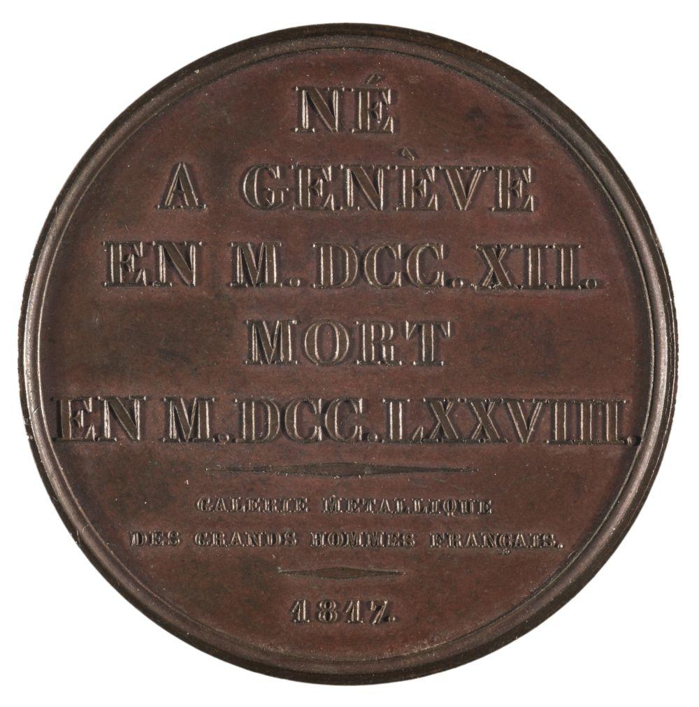* Medals. France. Portrait Medals, Numismatica Universalis Virum Illustrium Series - Image 2 of 2