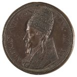 * Papal Medal. Pope Alexander VII (1599-1667), Bronze Medal, by Gaspare Morone
