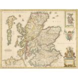 Scotland. Jansson (Jan), Scotia Regnum, circa 1650