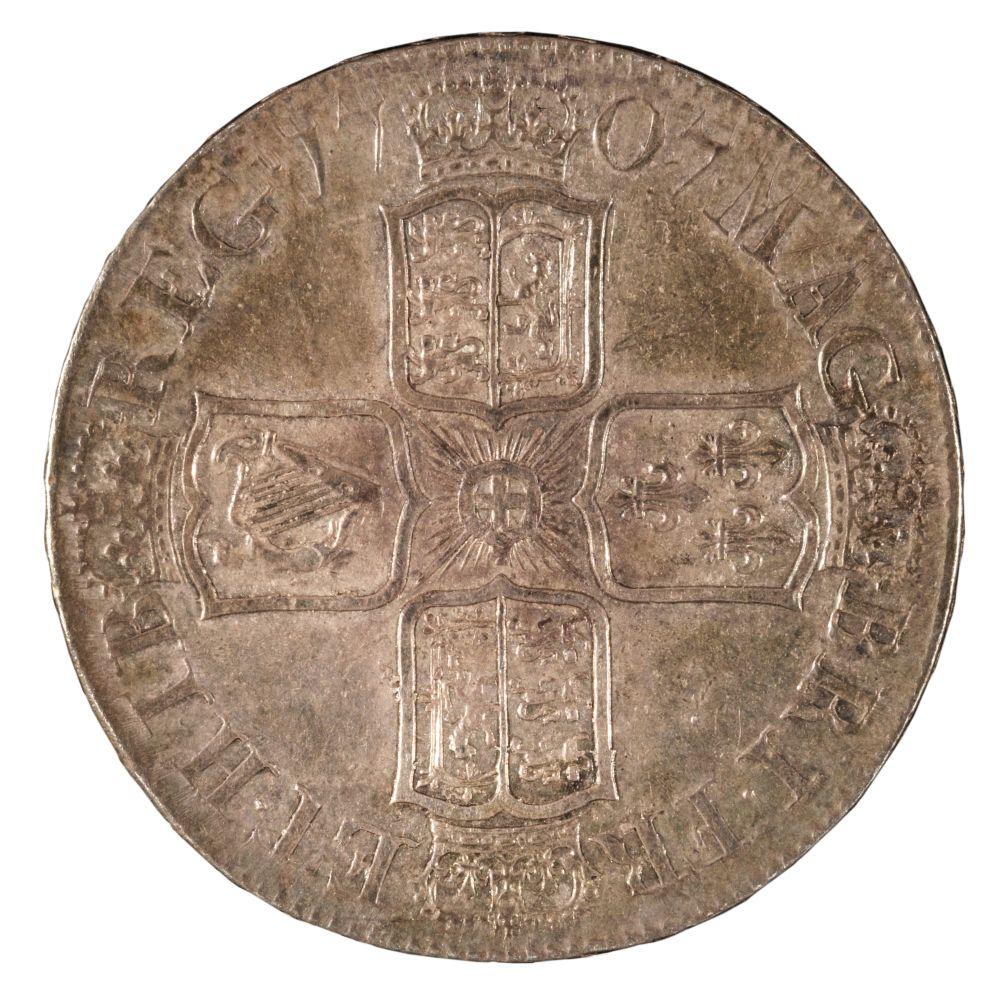 * Coins. Great Britain. Anne (1702-14). Halfcrowns, 1707 - Image 2 of 2