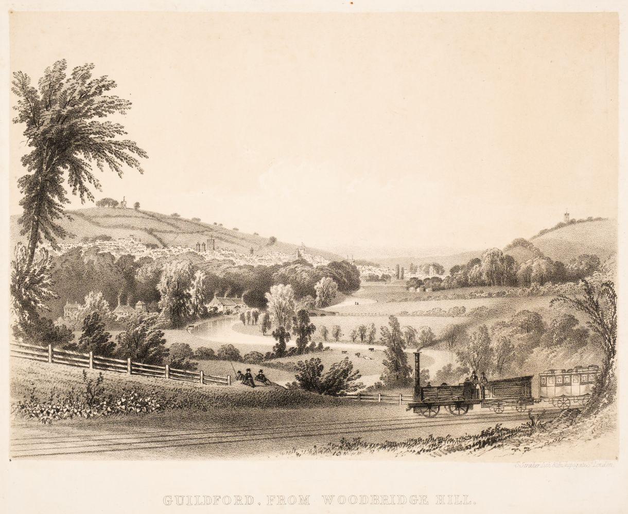 * Guildford. Straker (Samuel), Guildford from Woodbridge Hill, circa 1845