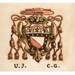 Du Choul (Guillaume). Veterum Romanum Religio Castrametatio, Disciplina Militaris ut & Balneæ, 1685