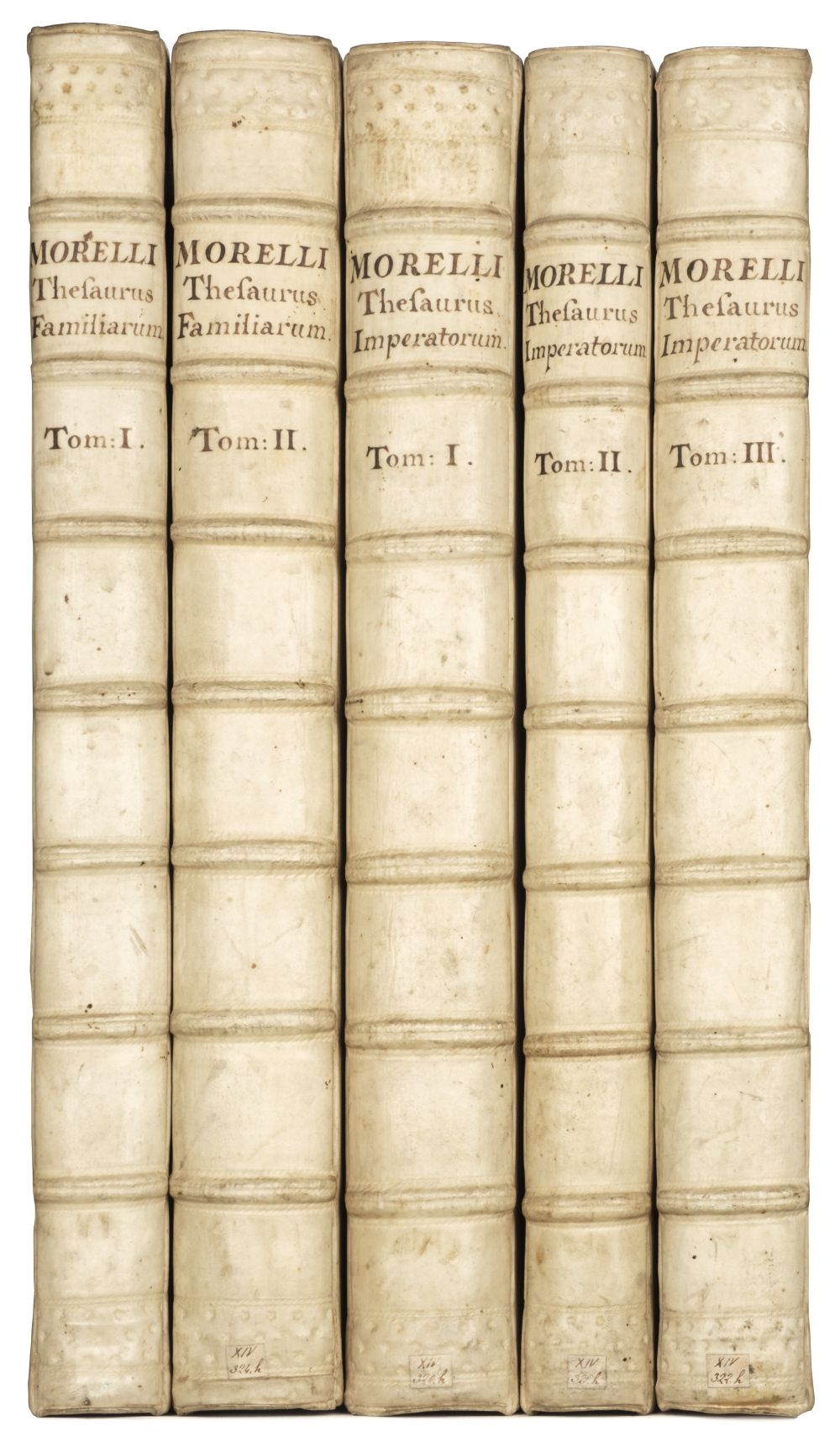 Morell (Andreas). Thesaurus Morellianus, 1734