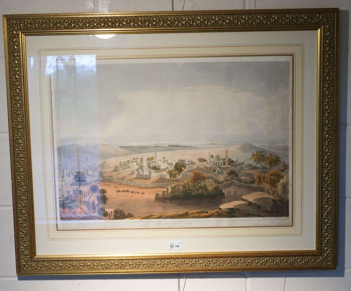 * Salt (Henry, 1780-1827) The Pyramids at Cairo, 1809 - Image 2 of 5