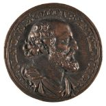 * Medal. Claude D'Expilly (1561-1636). Bronze medal by Dupre