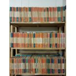 Penguin Paperbacks. A collection of approximately 400 volumes of Penguin & Pelican paperbacks
