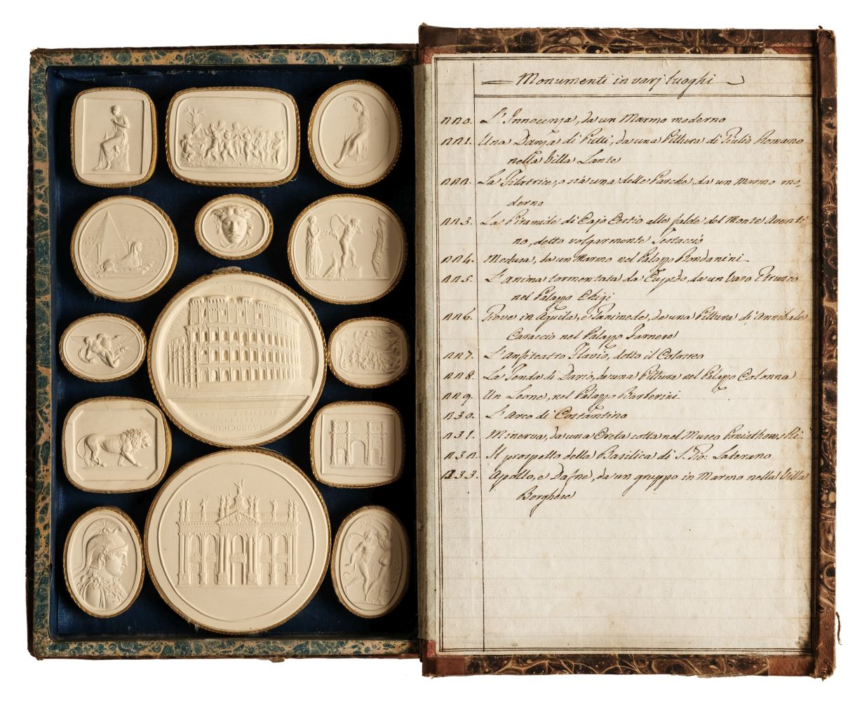 Paoletti (Bartolomeo and Pietro). A collection of 300 plaster cameos, 1820 - Image 3 of 16