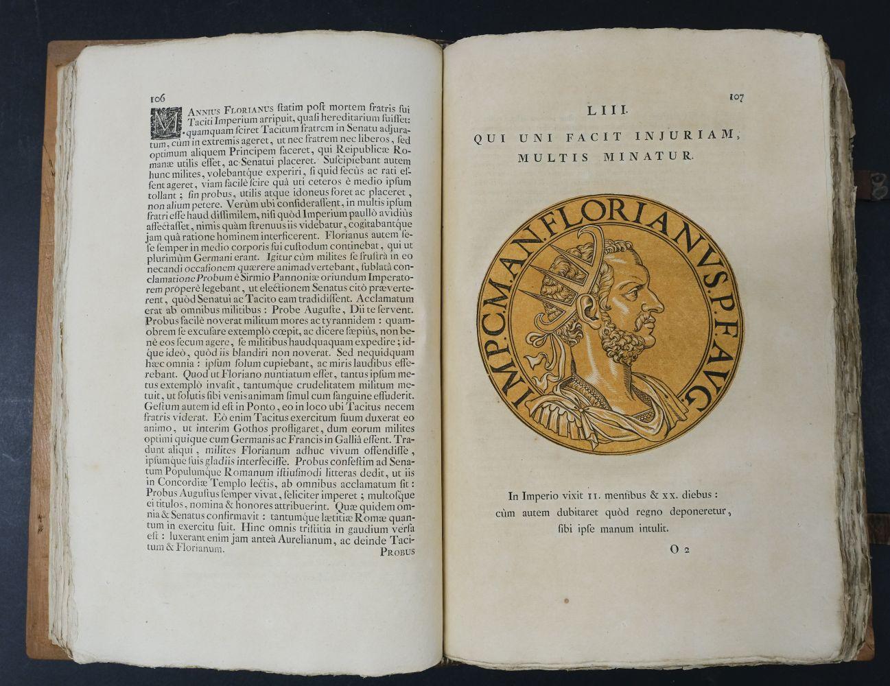 Goltzius (Hubert). Icones Imperatorum Romanorum, 1708 - Image 10 of 13