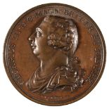 * Medal. George III (1760-1820). Copper Medal, Preserved from Assassination, 1800