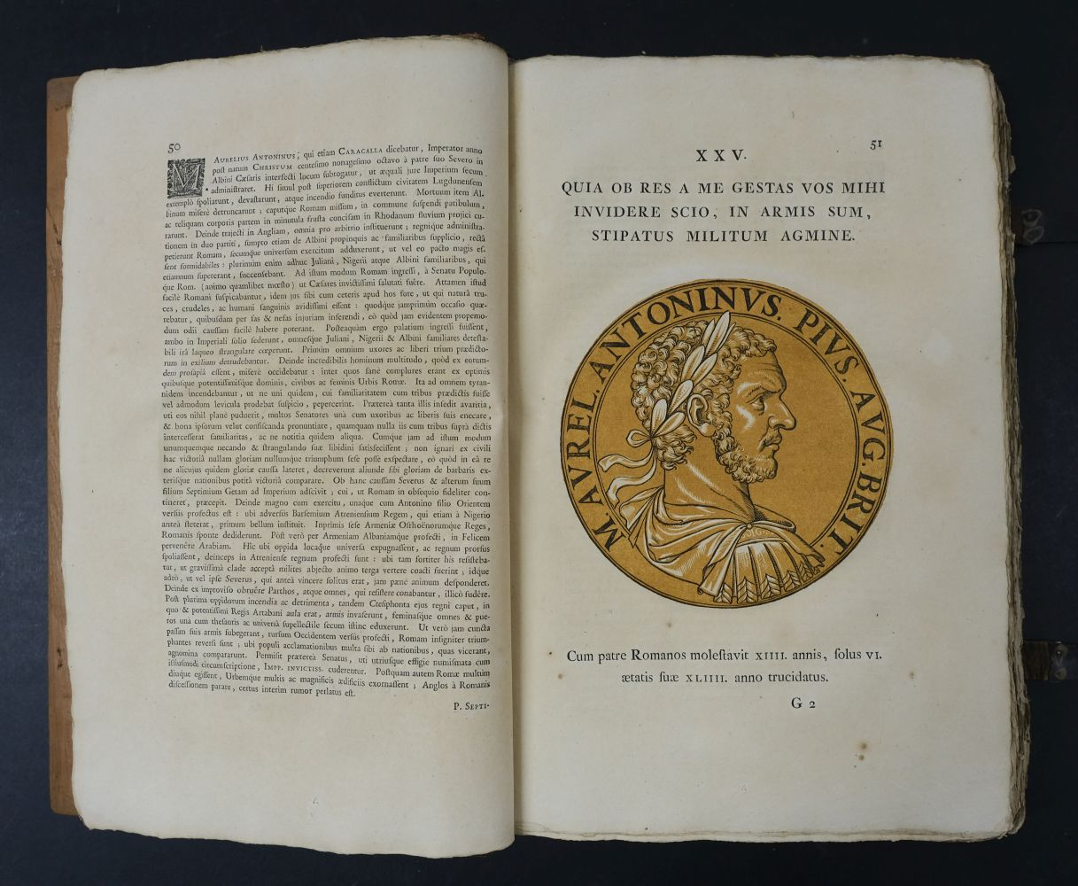 Goltzius (Hubert). Icones Imperatorum Romanorum, 1708 - Image 9 of 13