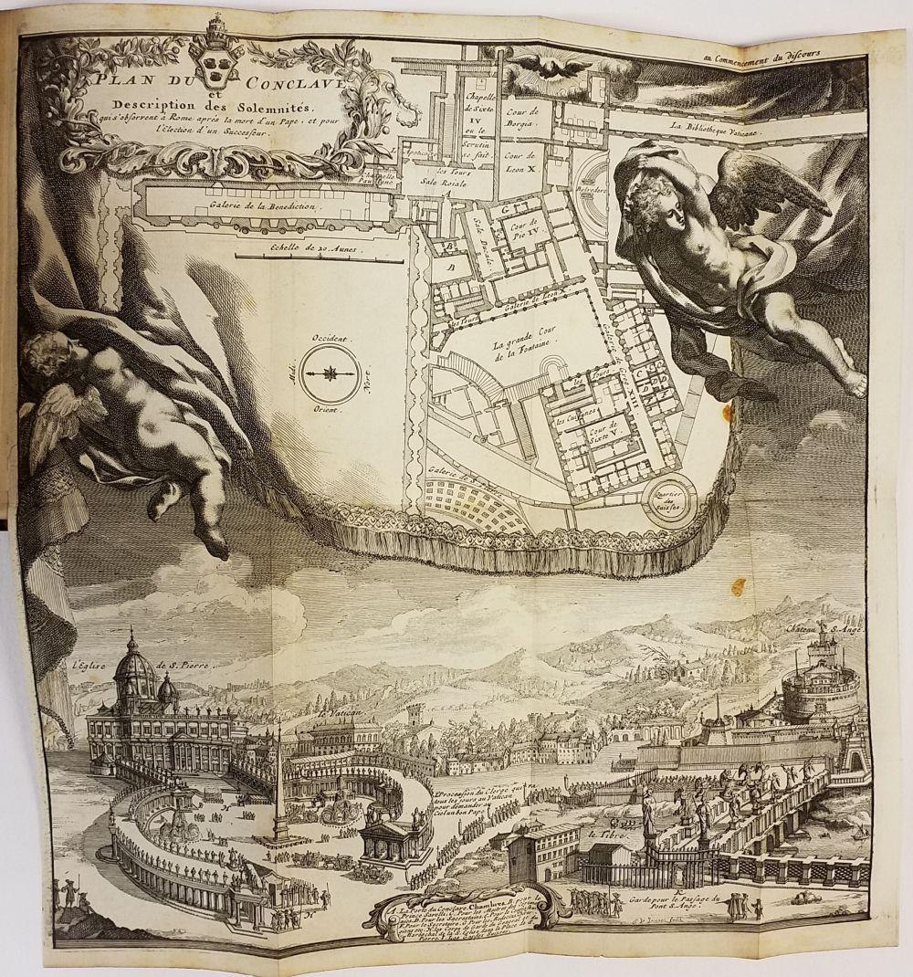 Leti (Gregorio). Histoire des Conclaves Depuis Clement V. jusqu'a present..., 2 volumes, 3rd - Image 2 of 2