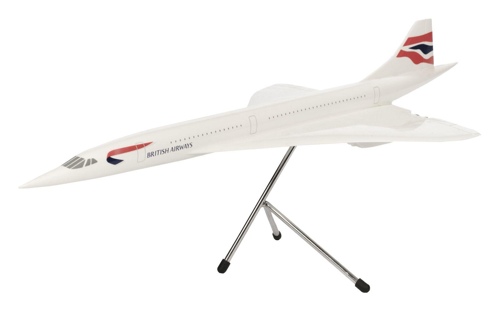 * Concorde. British Airways Concorde Model