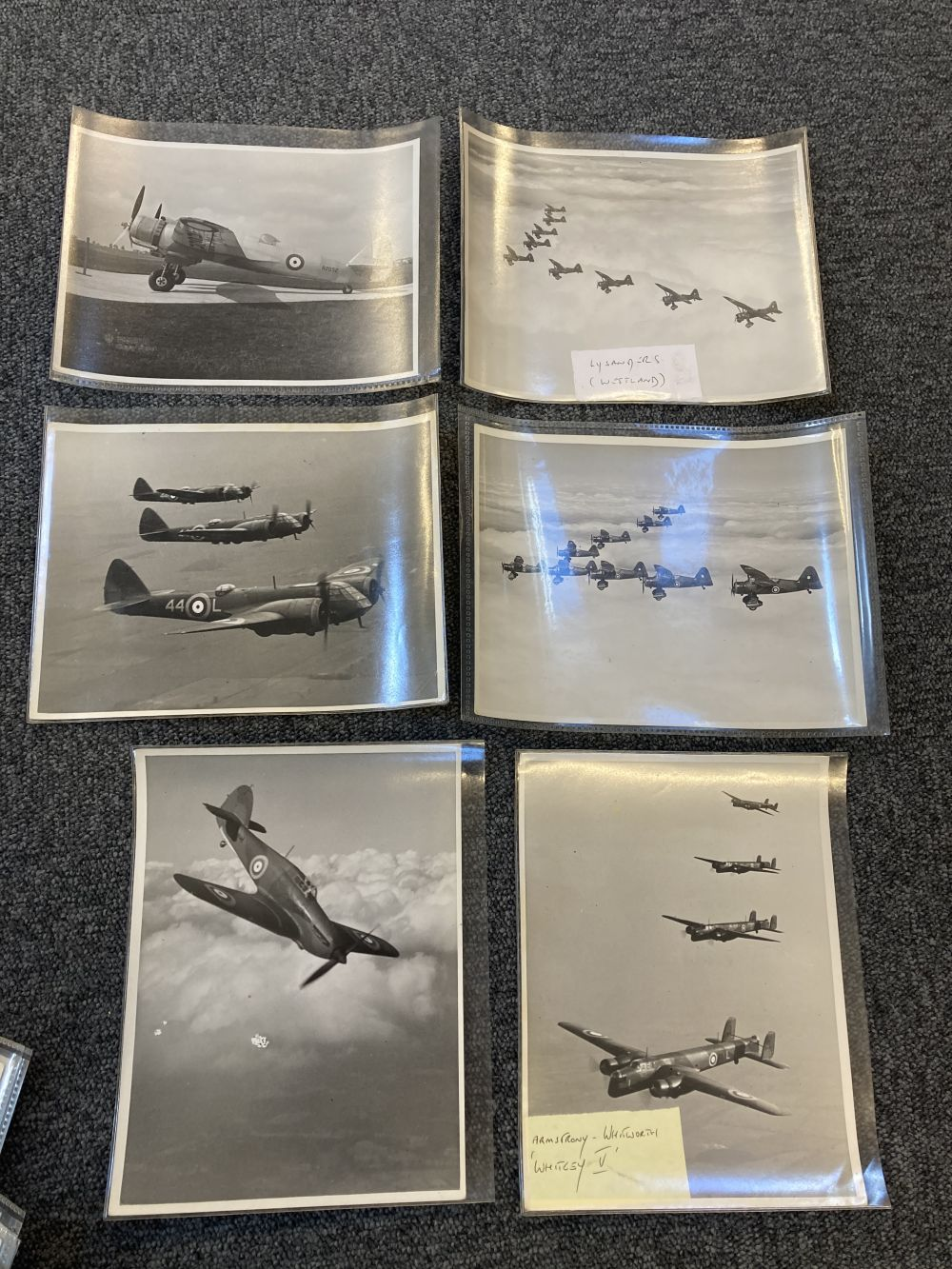 * Aviation Photographs. WWII RAF and Luftwaffe Photographs - Image 9 of 15