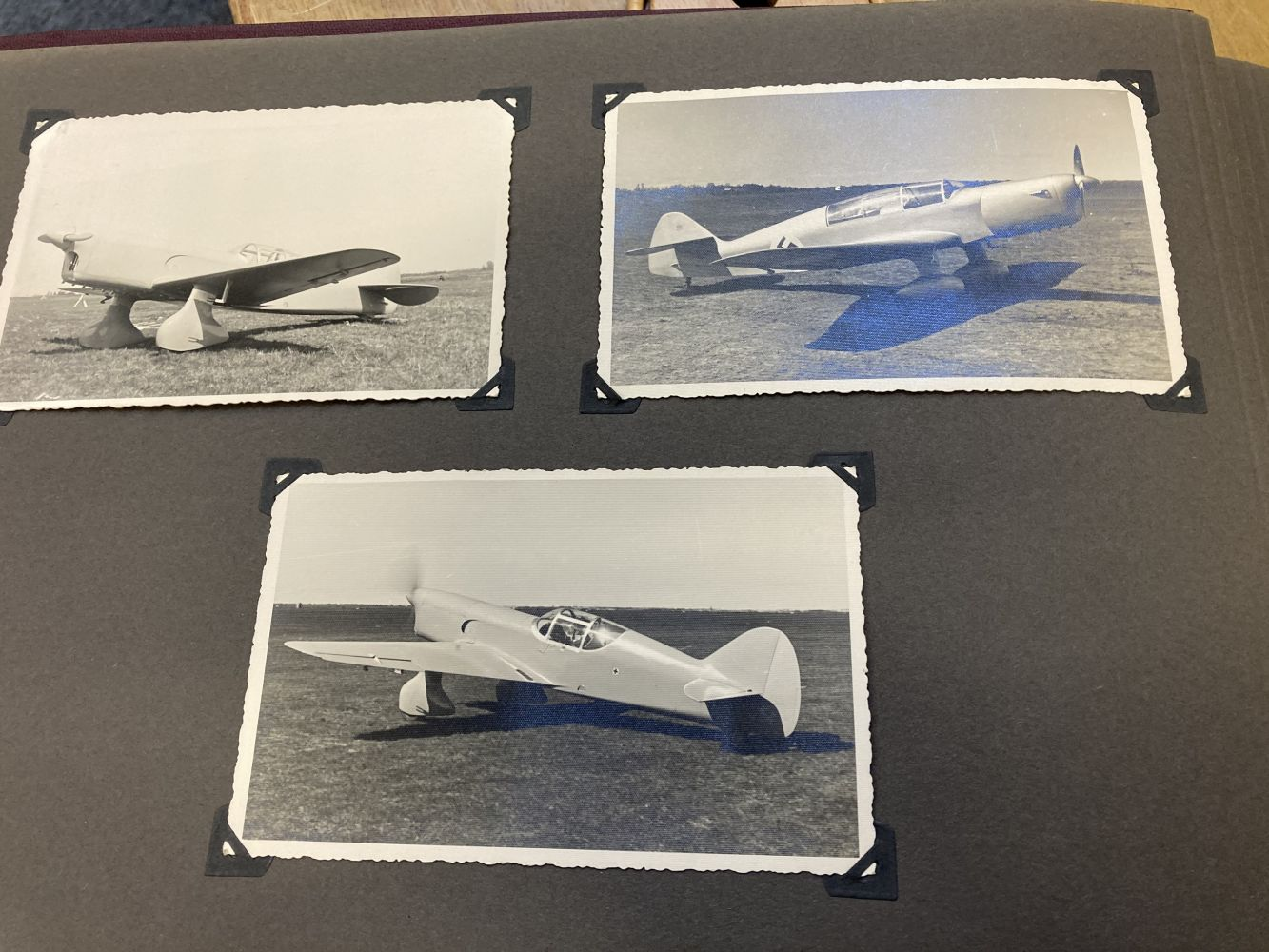 * Aviation Photographs - WWII Latvian Luftwaffen-Legion Lettland - Image 2 of 8