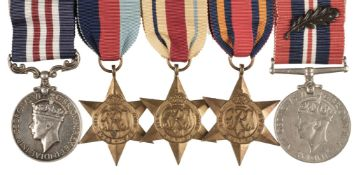 * WWII Military Medal Group - Rhodesia Regiment