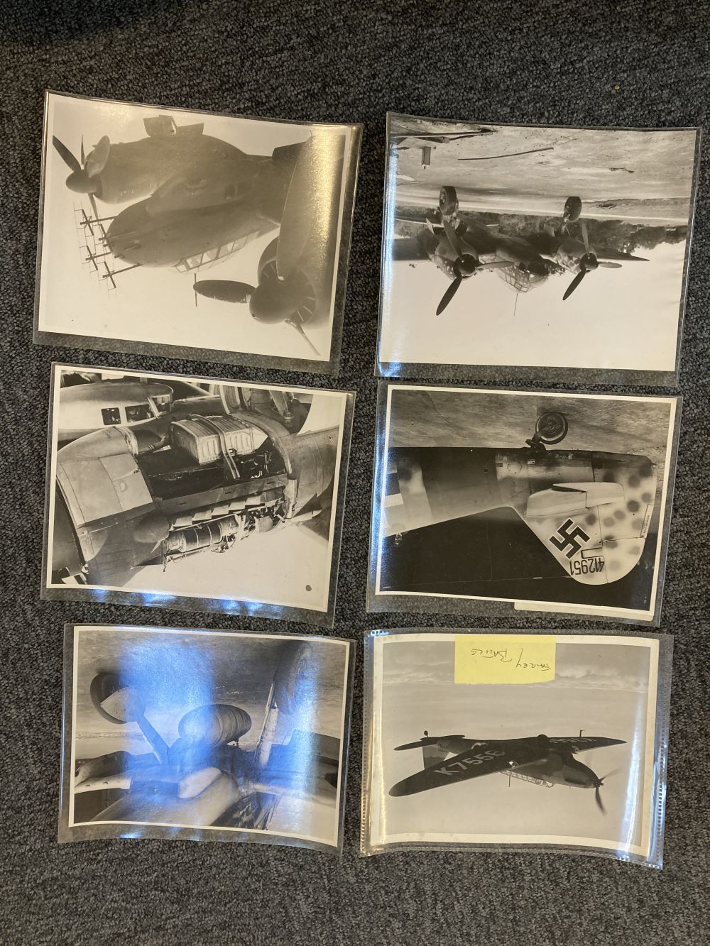 * Aviation Photographs. WWII RAF and Luftwaffe Photographs - Image 13 of 15
