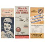 * Civil Aviation. Canadian Timetables 1931-1965