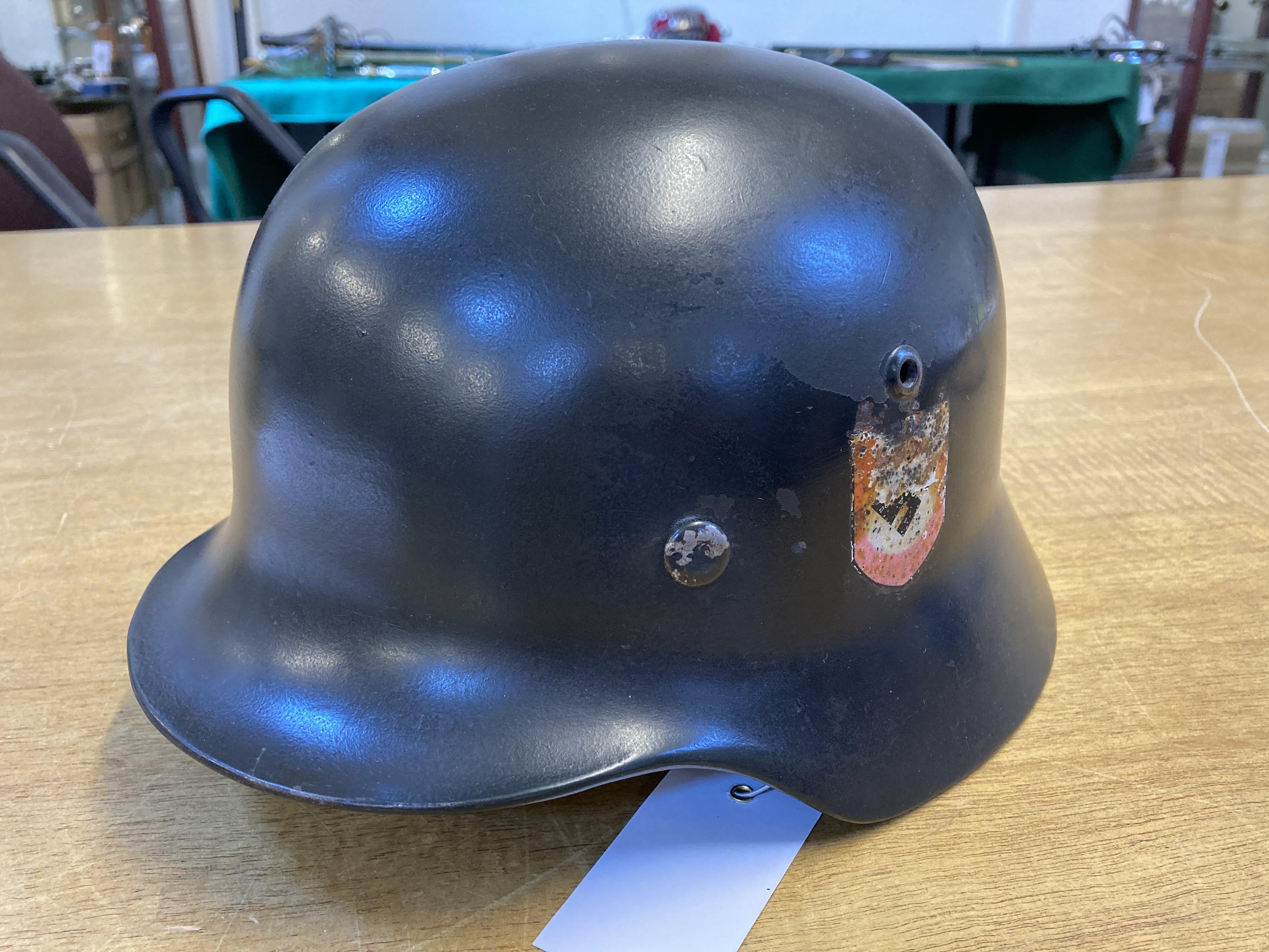* Third Reich. SS M35 Helmet - Image 7 of 10
