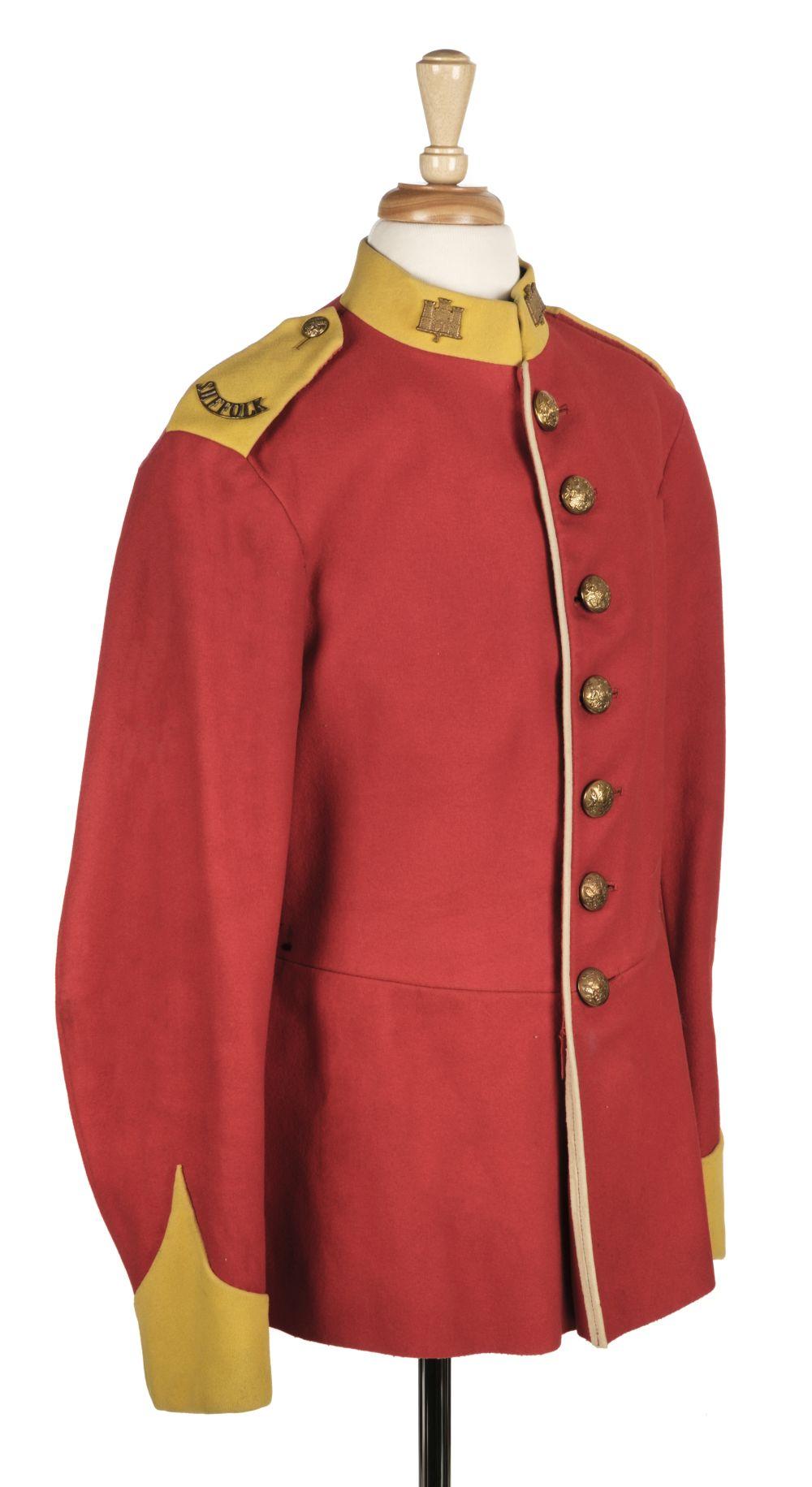 * Suffolk Regiment. Other Ranks Tunic