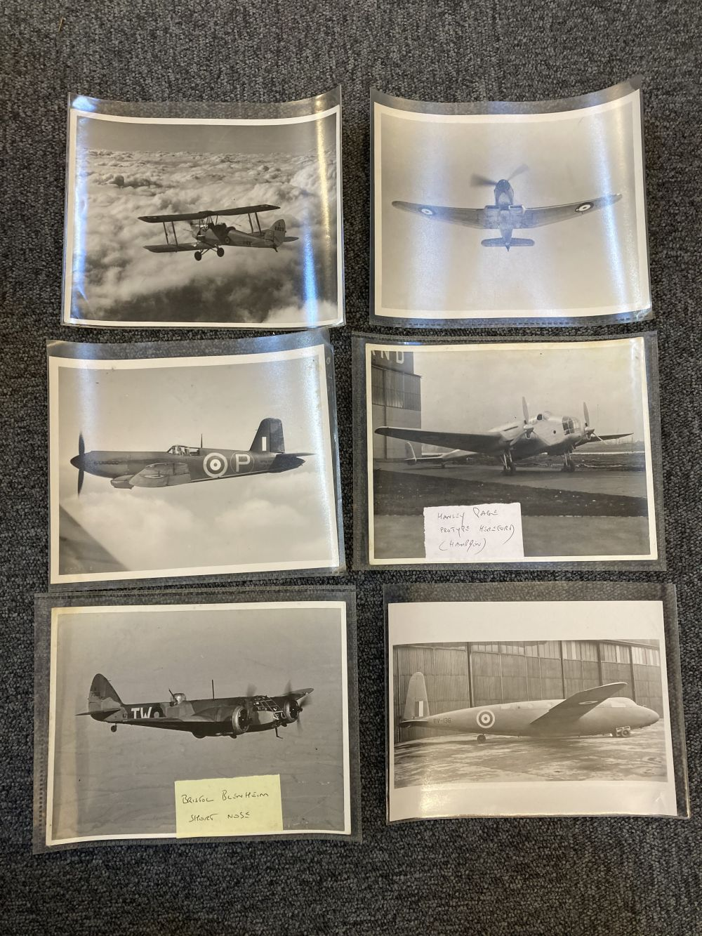 * Aviation Photographs. WWII RAF and Luftwaffe Photographs - Image 12 of 15