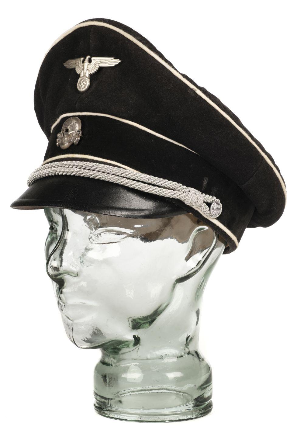 * Third Reich. WWII SS Officer's visor