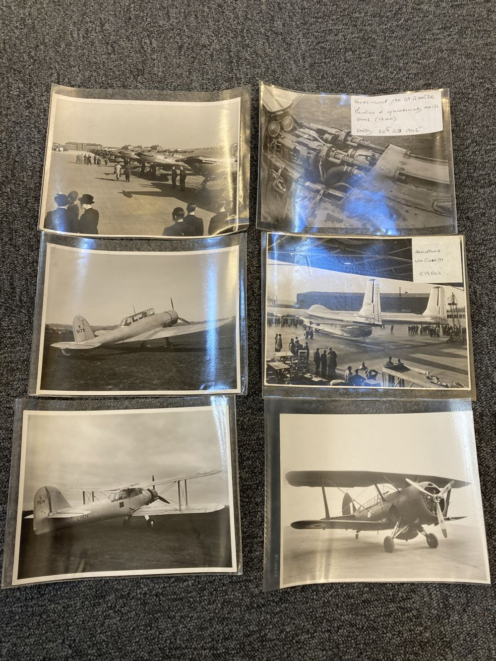 * Aviation Photographs. WWII RAF and Luftwaffe Photographs - Image 10 of 15