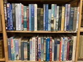 Aviation Books, approximately 60