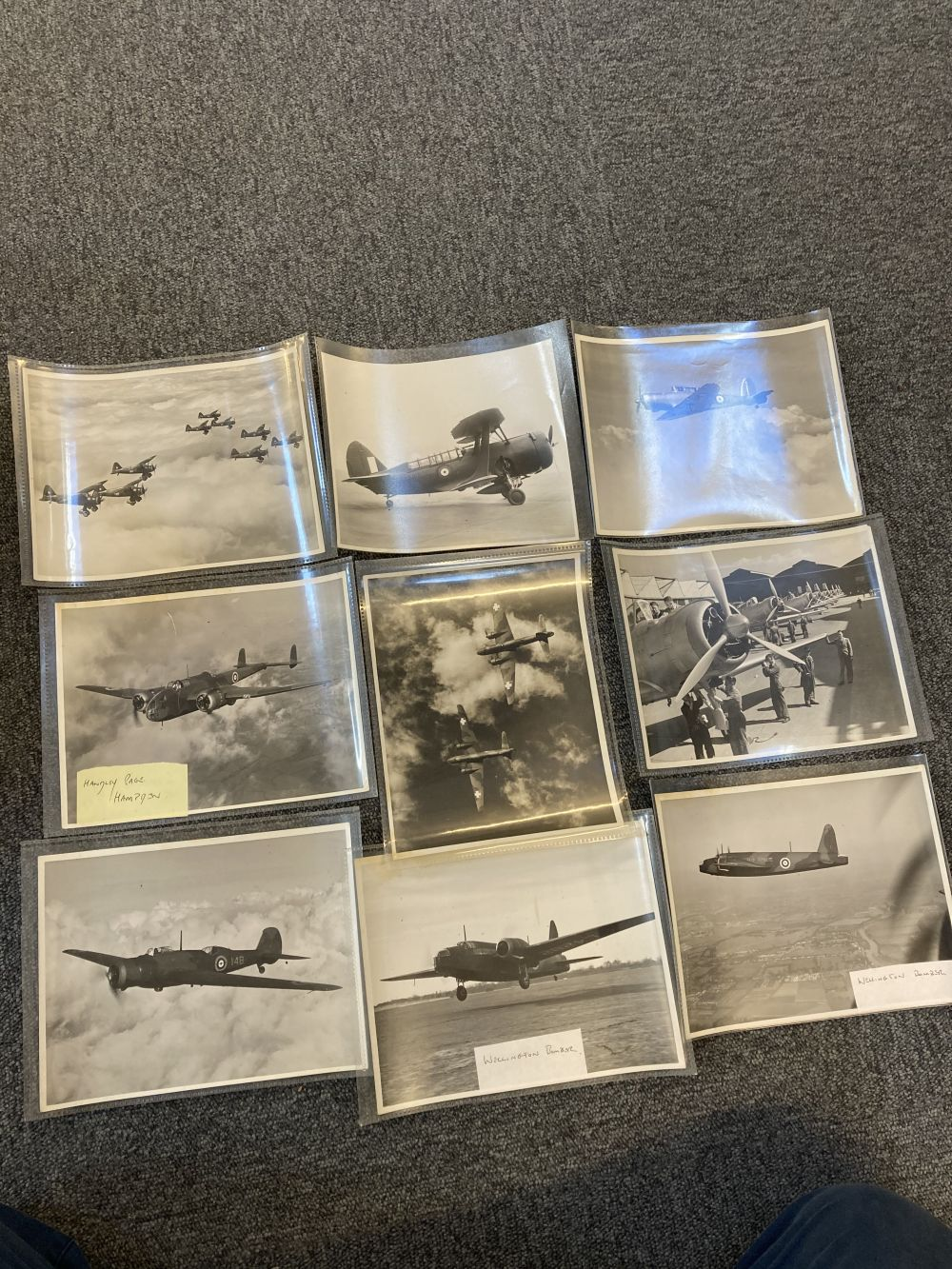 * Aviation Photographs. WWII RAF and Luftwaffe Photographs - Image 11 of 15