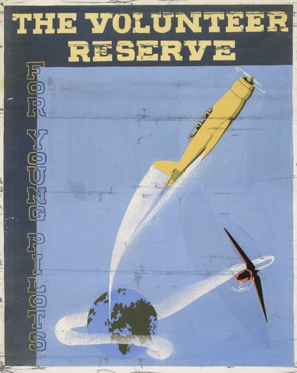 * WWII RAF Posters - The Volunteer Reserve