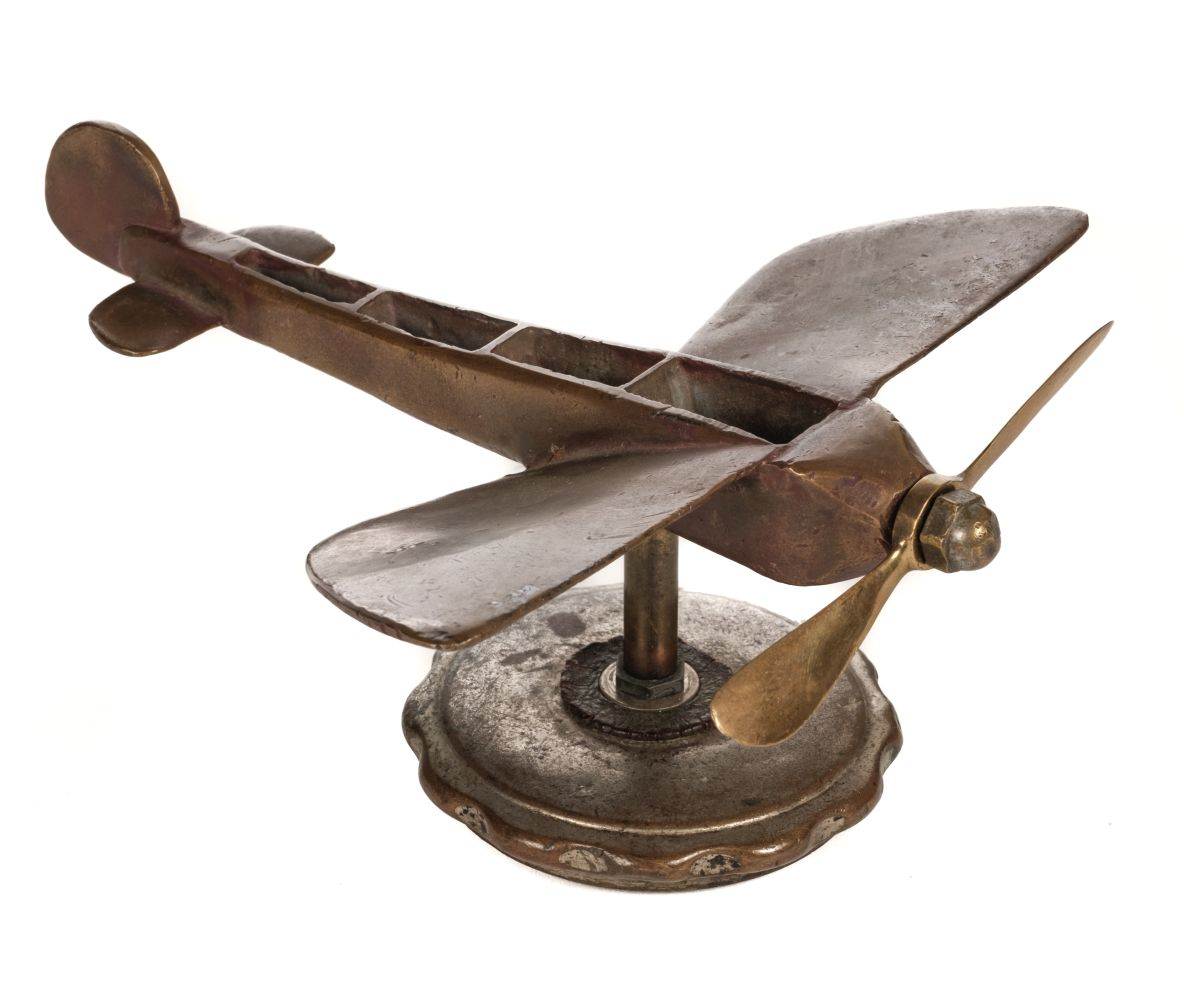 * Louis Bleriot, Car Mascot, early 20th century