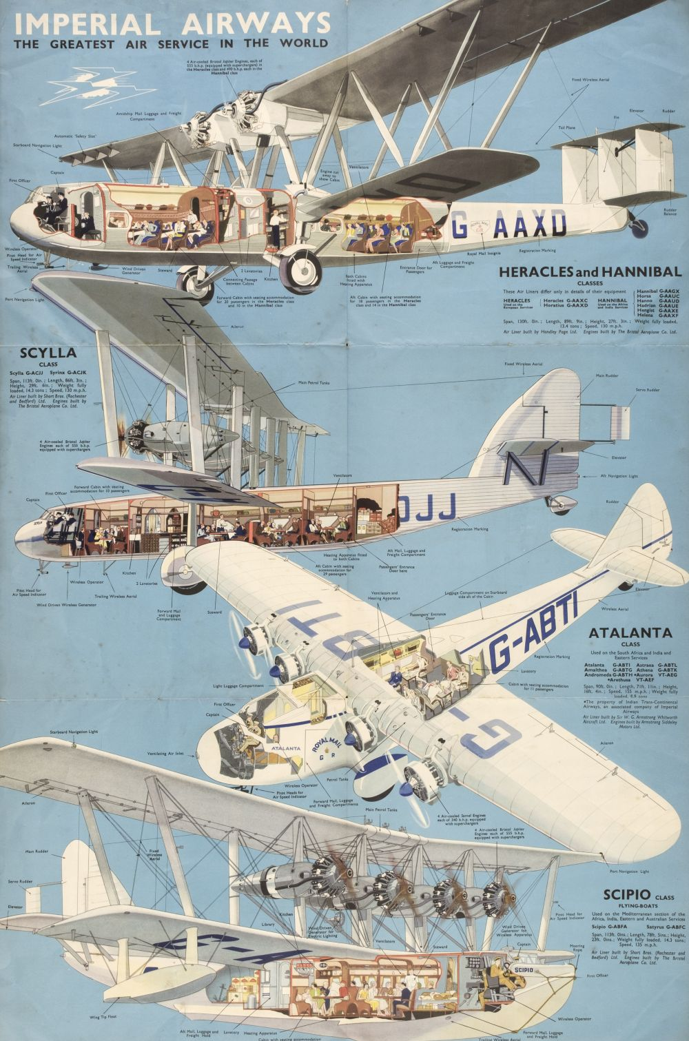 * Imperial Airways. The Greatest Air Service in the World