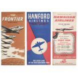 * Civil Aviation. American Timetables 1940-1960