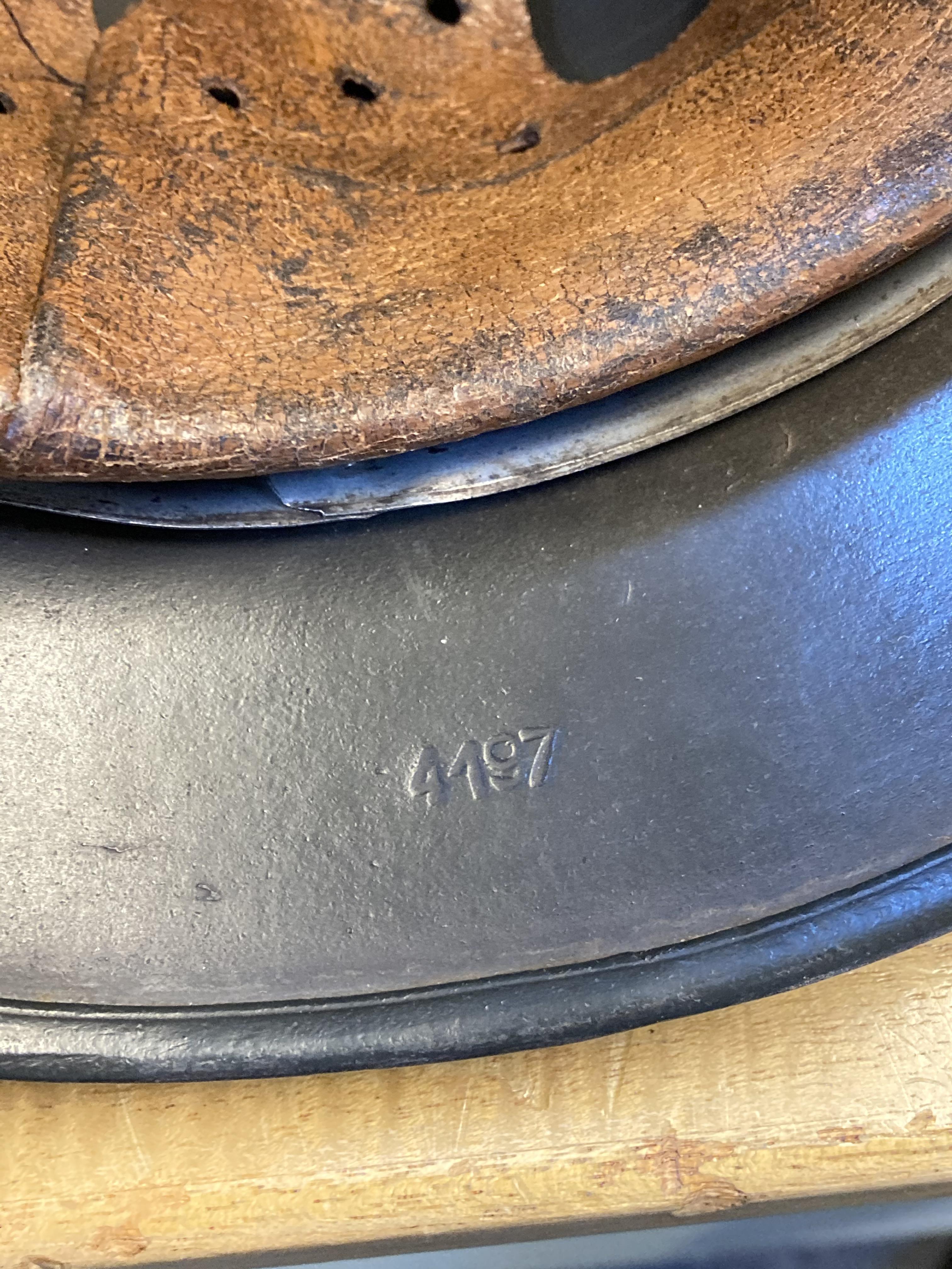 * Third Reich. SS M35 Helmet - Image 9 of 10