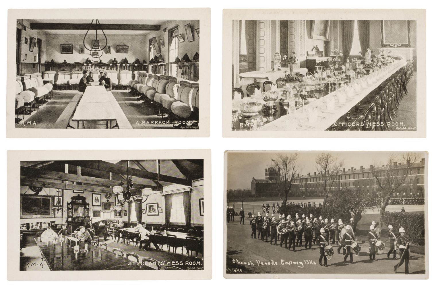 * Royal Marines. 200 early 20th century postcards