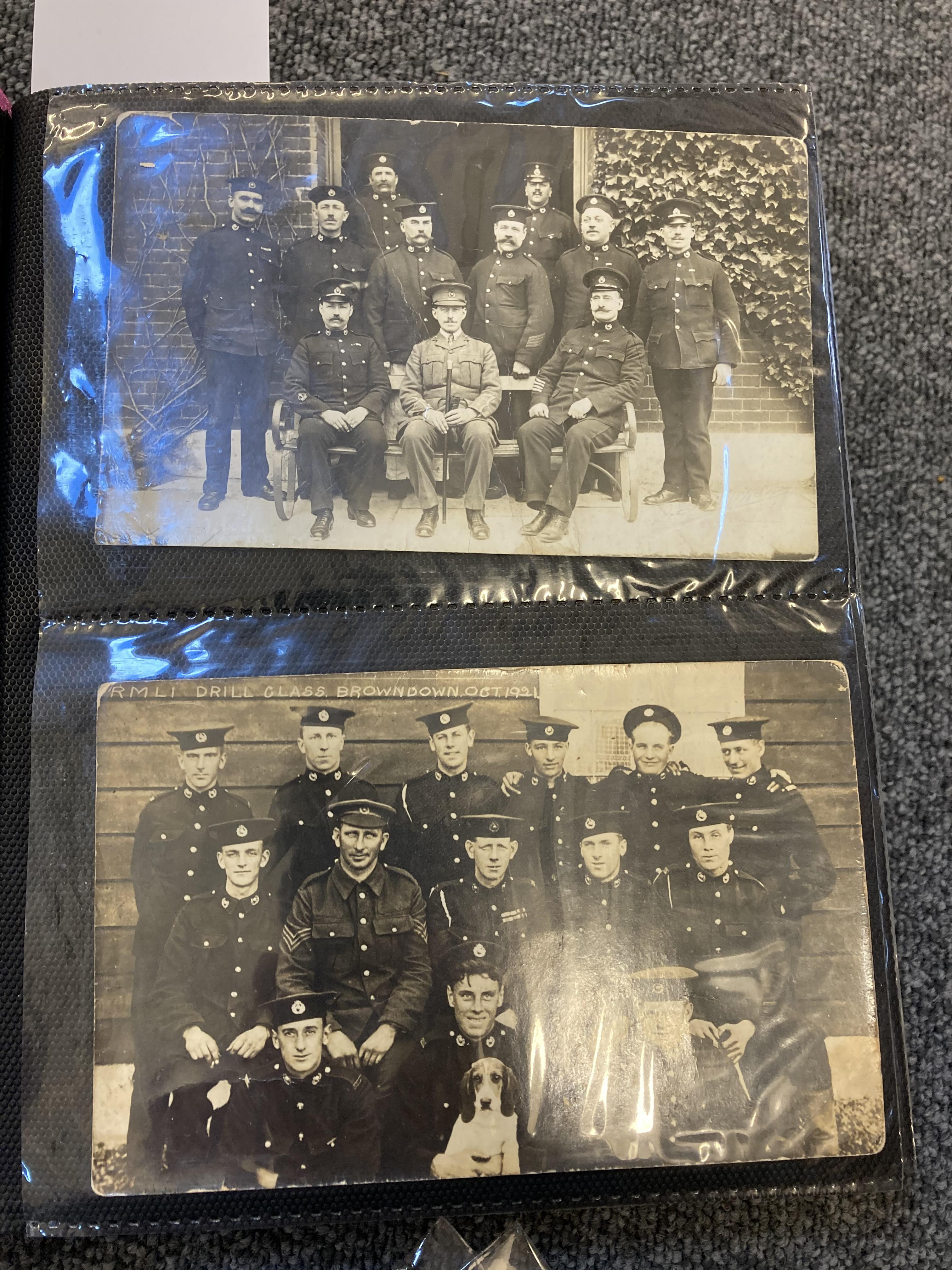 * Royal Marines. 200 early 20th century postcards - Image 2 of 12