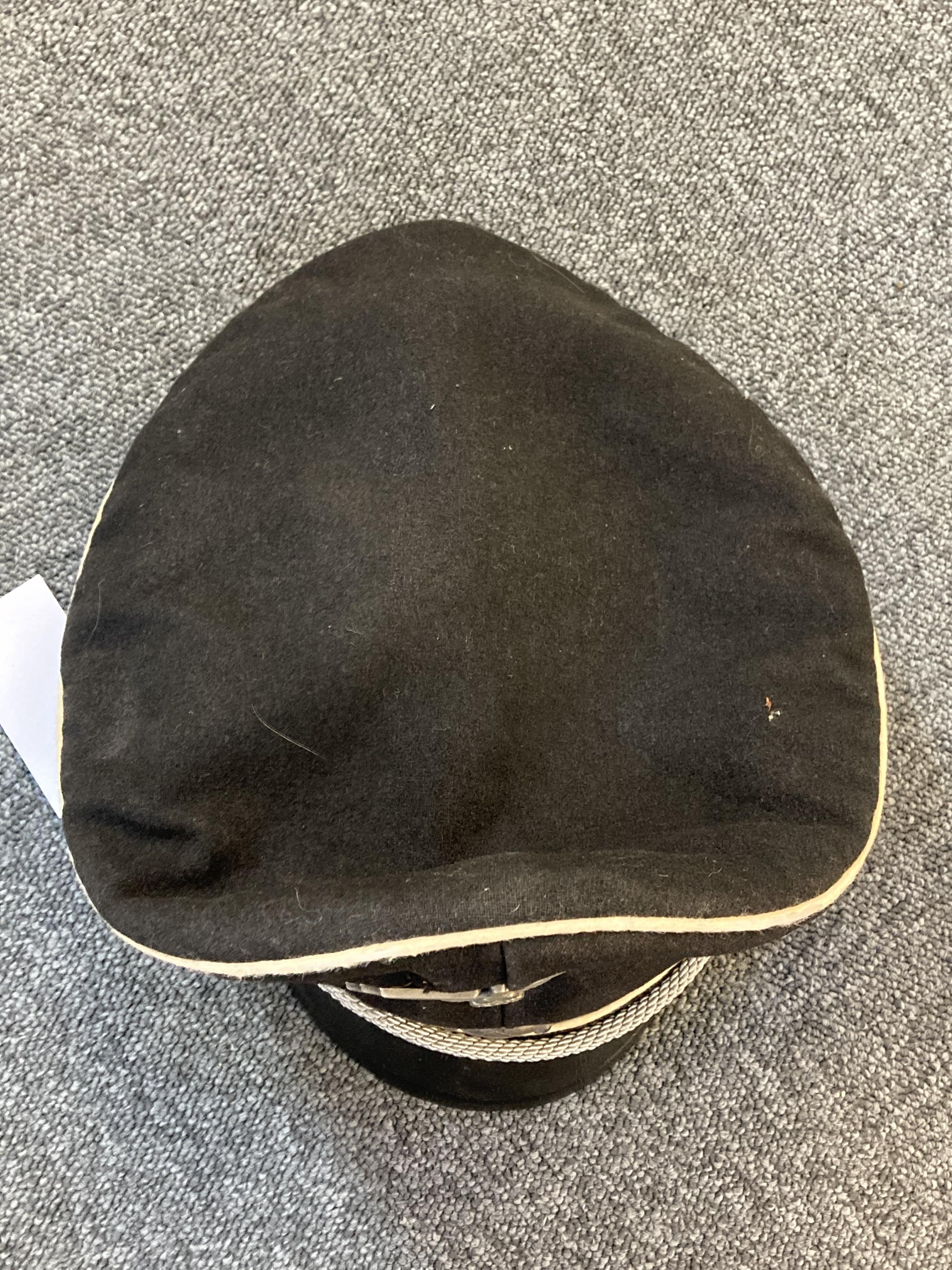* Third Reich. WWII SS Officer's visor - Image 10 of 10