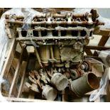 * Battle of Britain. Hurricane Merlin Engine