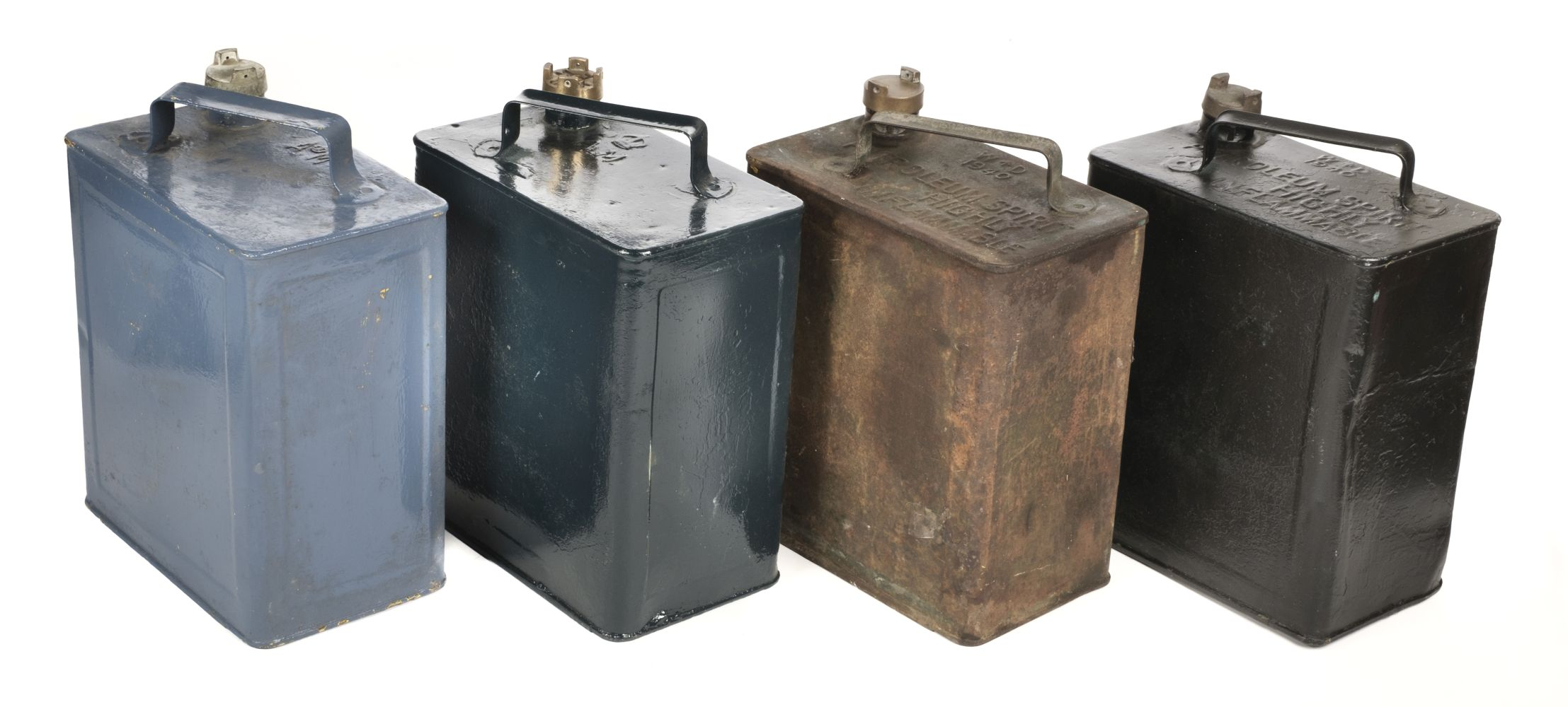* WWII Air Ministry Petrol Cans