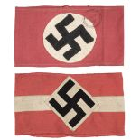 * Third Reich. Hitler Youth Armband plus one other