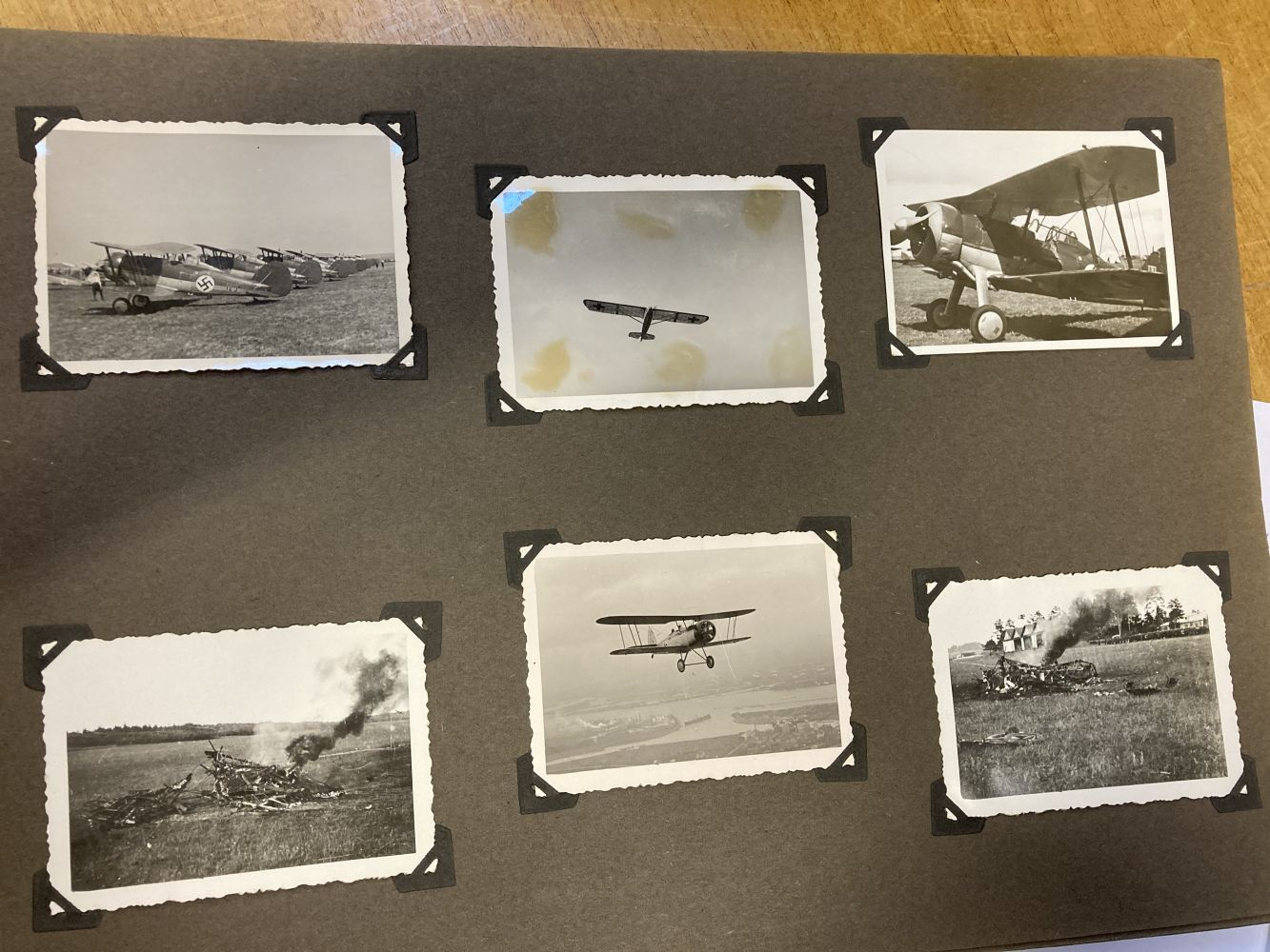 * Aviation Photographs - WWII Latvian Luftwaffen-Legion Lettland - Image 8 of 8