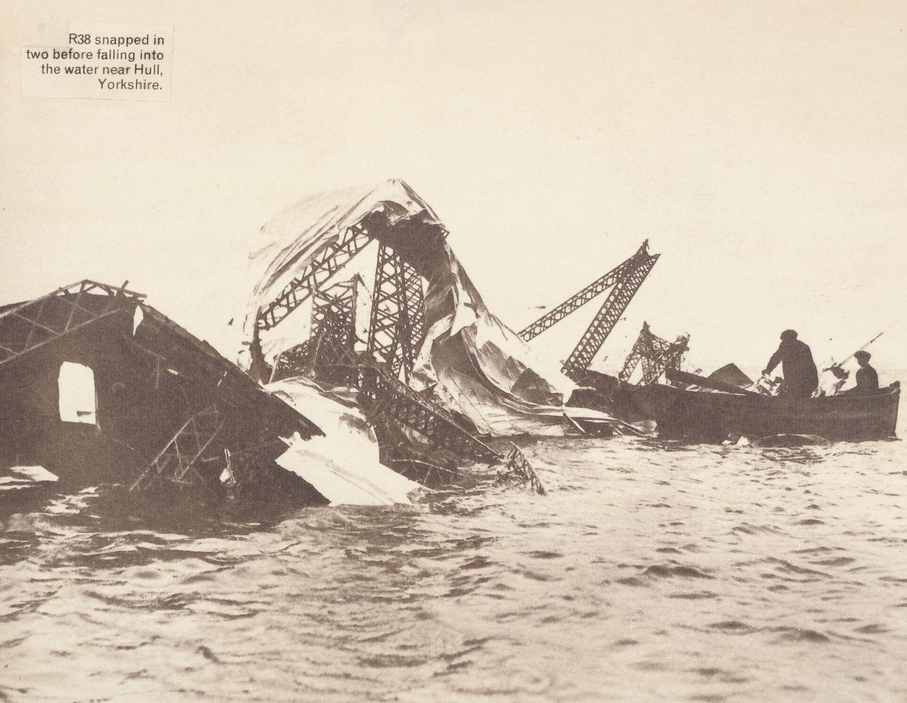 * Airship. R38 relic - 1921