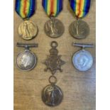 * WWI Suffolk Regiment Medals