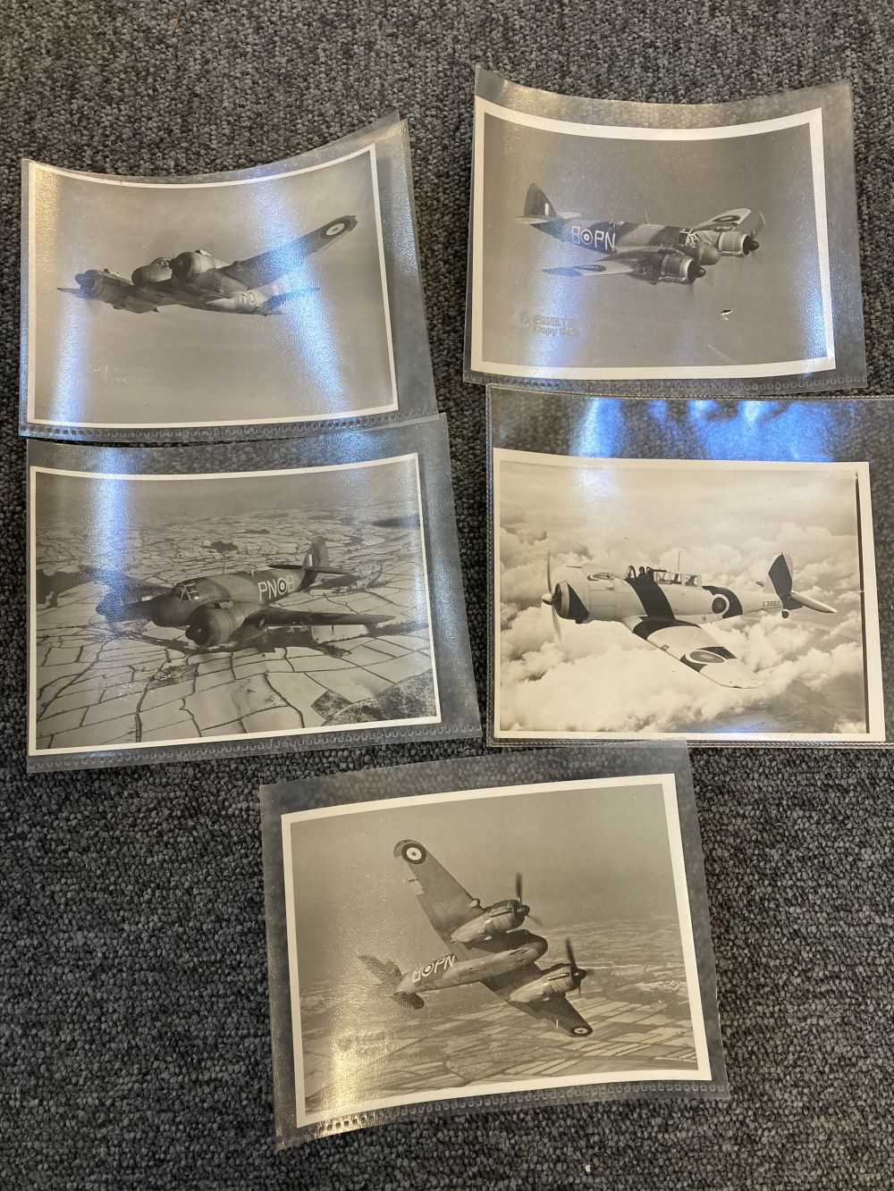 * Aviation Photographs. WWII RAF and Luftwaffe Photographs - Image 8 of 15