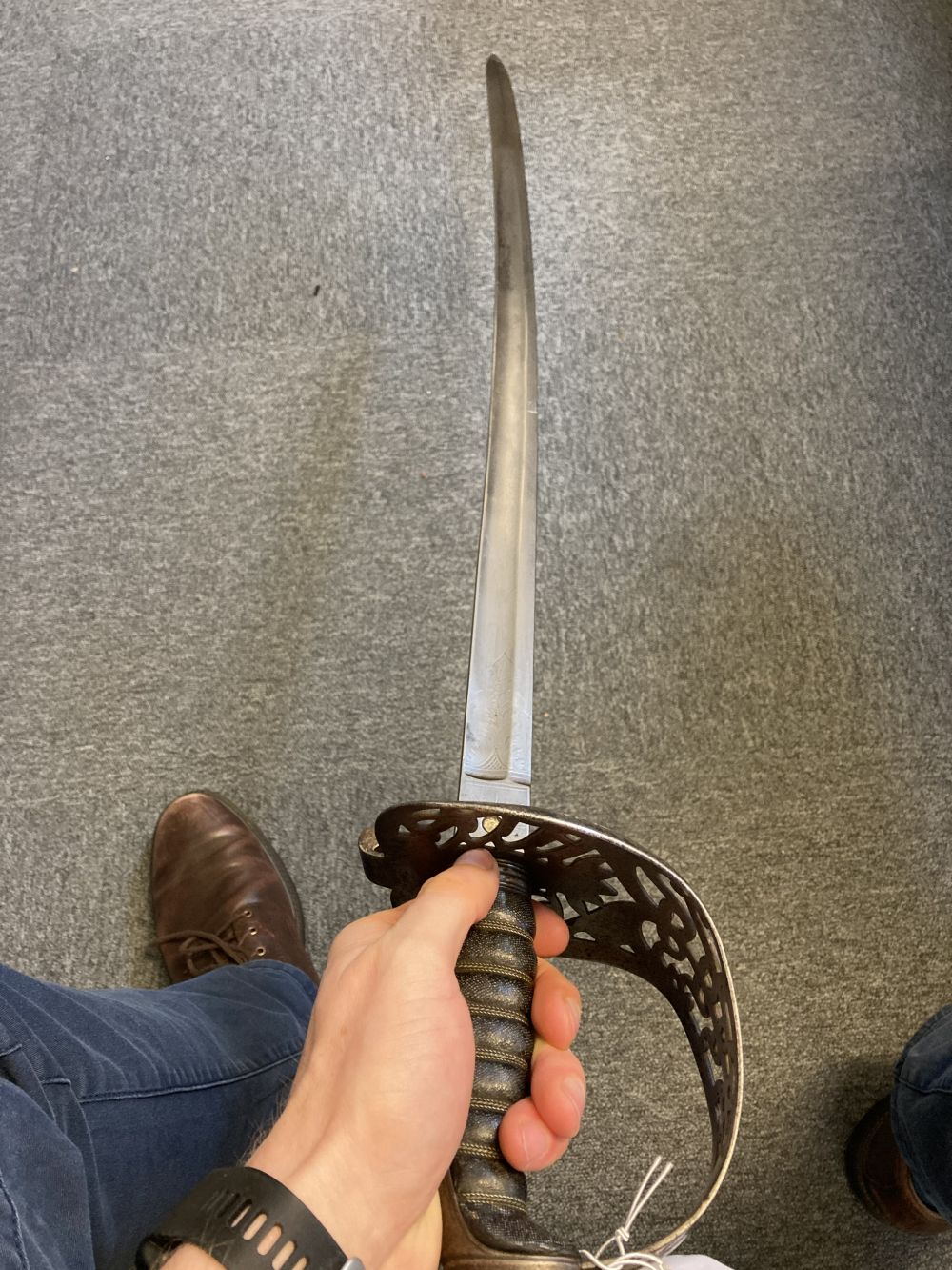 * Sword. Victorian Heavy Cavalry Officer's sword - Image 7 of 14