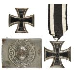 * Prussia, WWI Iron Cross, 1st class and related items