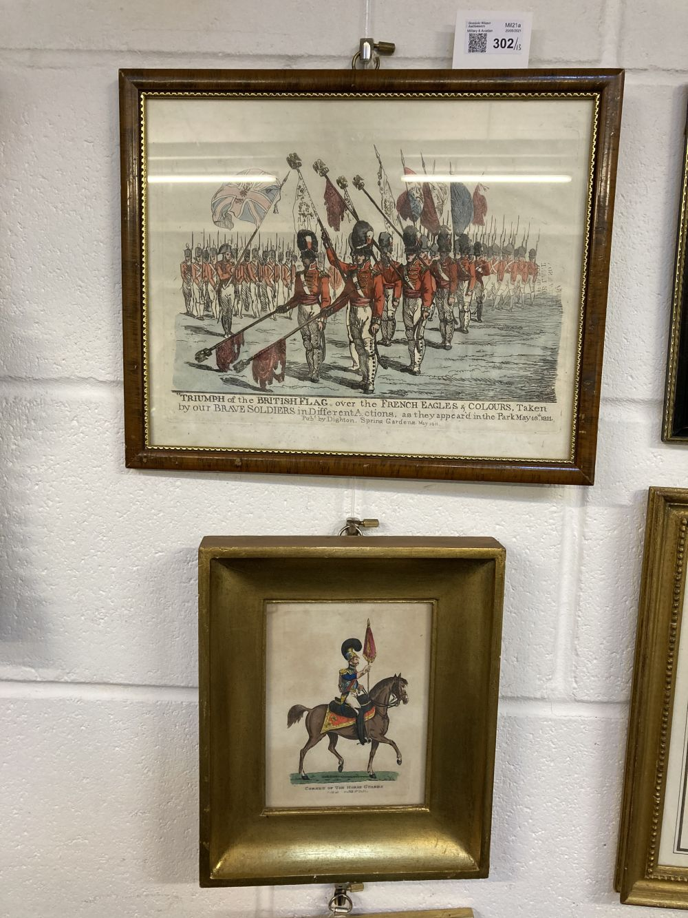 * Military Prints. Dighton (Richard). Triumph of the British Flag over the French, 1811, etc (13) - Image 2 of 9