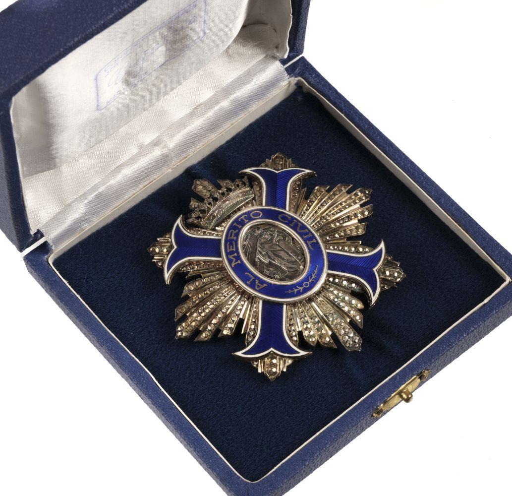 * Spain. Order of Civil Merit, 1st Class, Commander's Star