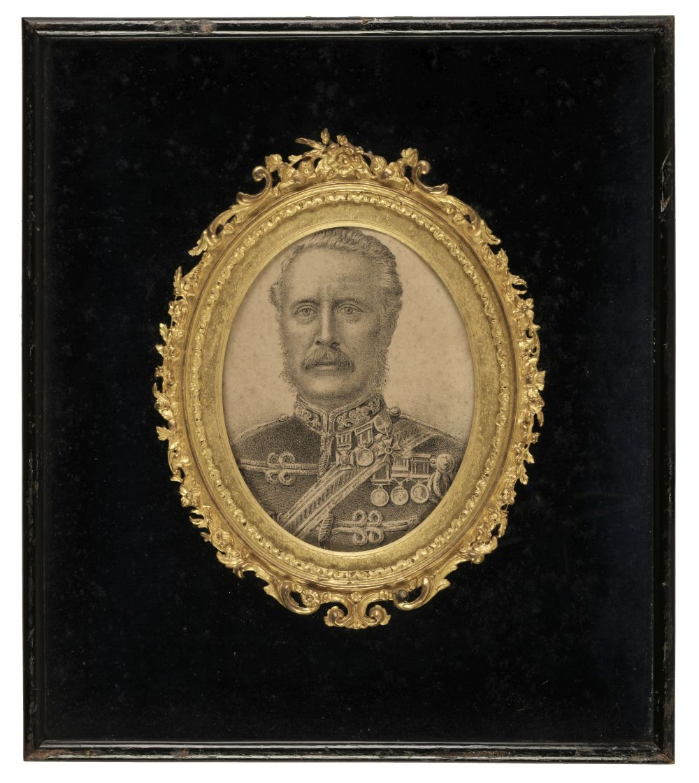 * Major General Gordon. Portrait Lithograph, circa 1890