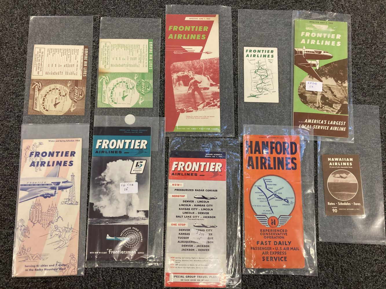 * Civil Aviation. American Timetables 1940-1960 - Image 6 of 11
