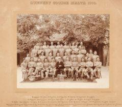 * Military Photographs. Gunnery Course, Malta 1900
